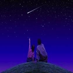 stelle telescopio bambino papà