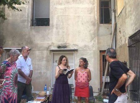VOIX VIVES de Méditerranée en Méditerranée – ATELIER Paroles de Poètes : Luigia Sorrentino – Juliette Massat  (Sete 20 – 28 juillet 2018)