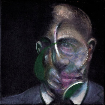Francis Bacon, Portrait of Michel Leiris, 1976