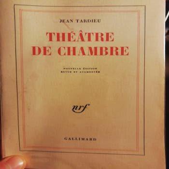 UNE GESTE POUR UNE AUTRE (1951) – Jean Tardieu (TRAD. FR-ITA)