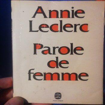 Amo solo nella prospettiva della differenza – ANNIE LECLERC (Parole de femme) TRAD FR-ITA
